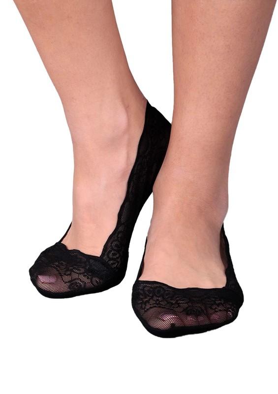 PENTİ - Penti Dantel Suba Babet Çorap | Siyah