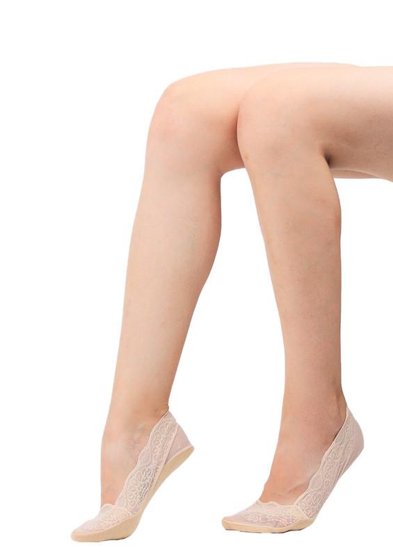 PENTİ - Penti Dantel Suba Babet Çorap | Ten