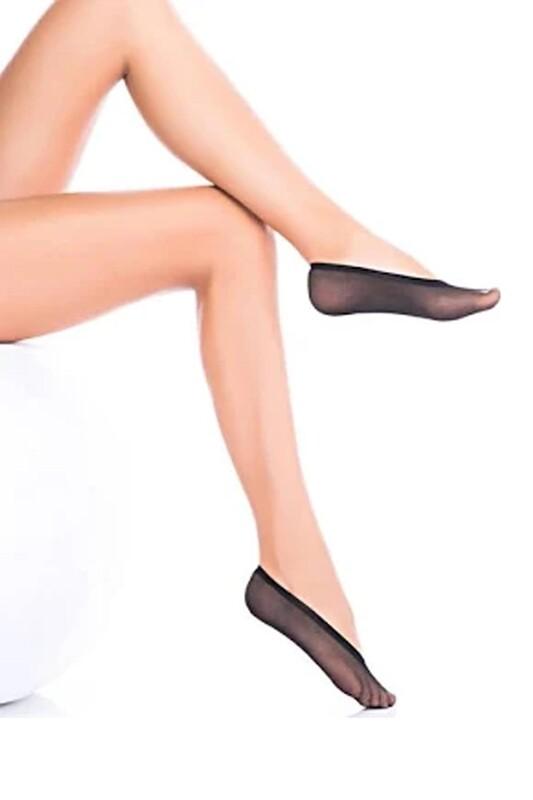 PENTİ - Penti Deco Suba Babet Çorap | Siyah