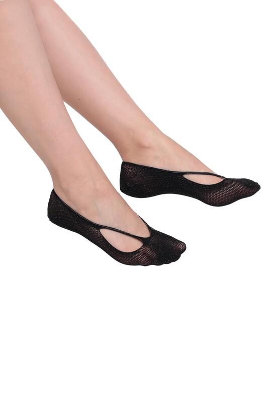 PENTİ - Penti Sık File Suba Babet Çorap | Siyah