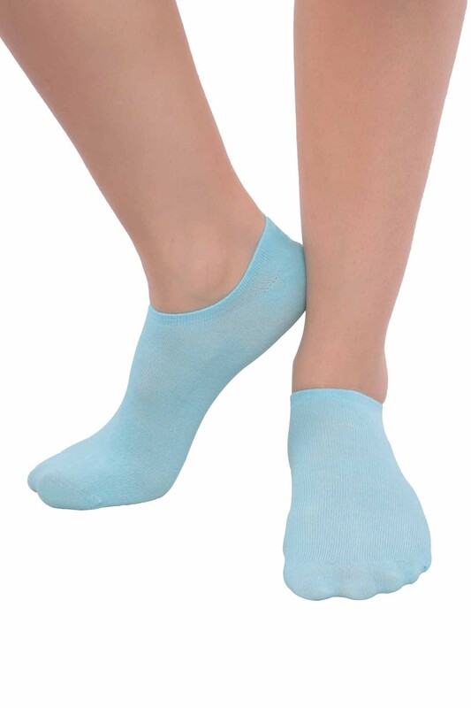SİMİSSO - MissBella Snickers Patik Çorap | Bebe Mavi