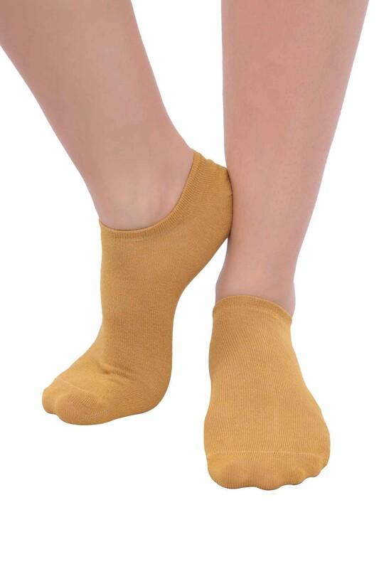 SİMİSSO - MissBella Snickers Patik Çorap | Hardal