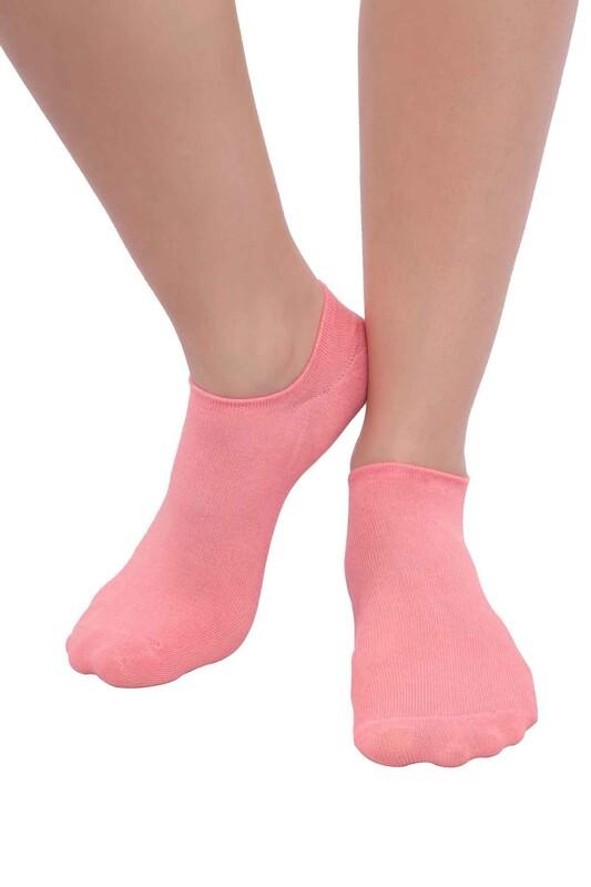 SİMİSSO - MissBella Snickers Patik Çorap | Pembe