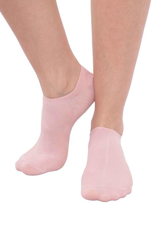 SİMİSSO - MissBella Snickers Patik Çorap | Pudra