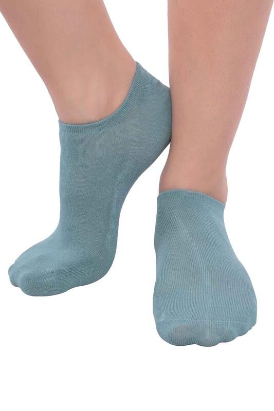 SİMİSSO - MissBella Snickers Patik Çorap | Yeşil