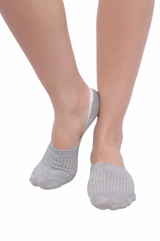 SİMİSSO - Penguen Kadın Babet Çorap 3'lü | Model 2