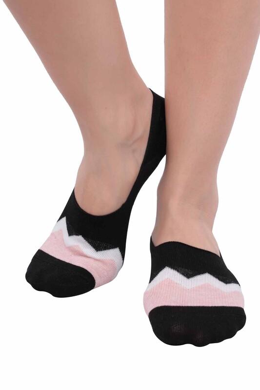 SİMİSSO - Penguen Kadın Babet Çorap 3'lü | Model 3