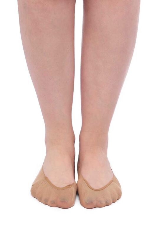 SİMİSSO - İtaliana Seamless Kadın Babet Çorap | Ten