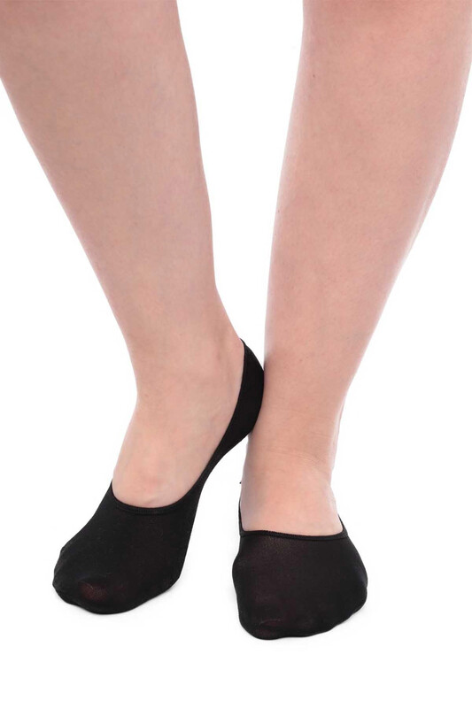 SİMİSSO - İtaliana Masaj Kadın Babet Çorap | Siyah