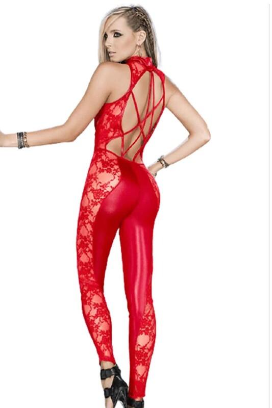 FOR DREAMS - For Dreams Fantezi Gece Kıyafeti 8090 | Kırmızı