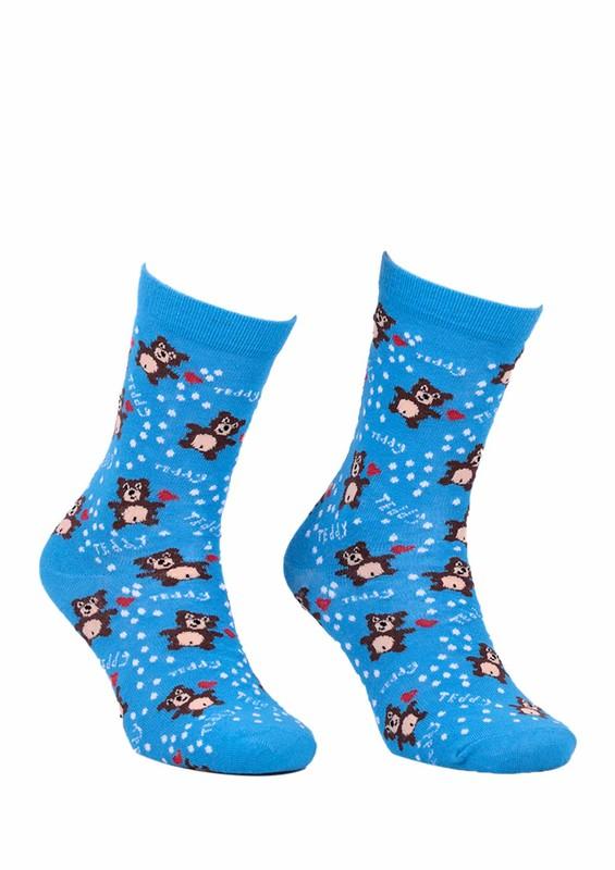 CALZE VİTA - Calze Vita Ayıcıklı Çorap 338 | Mavi