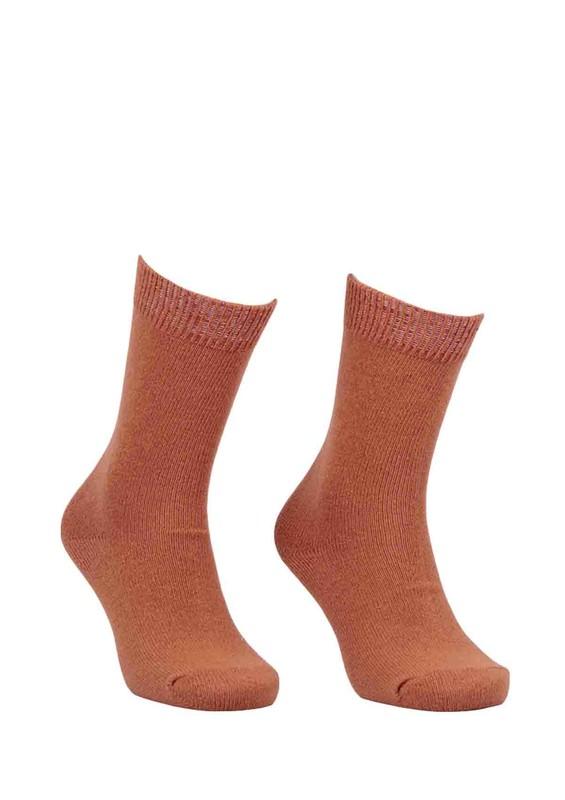 DİBA - Diba Dikişsiz Yün Çorap 214 | Taba