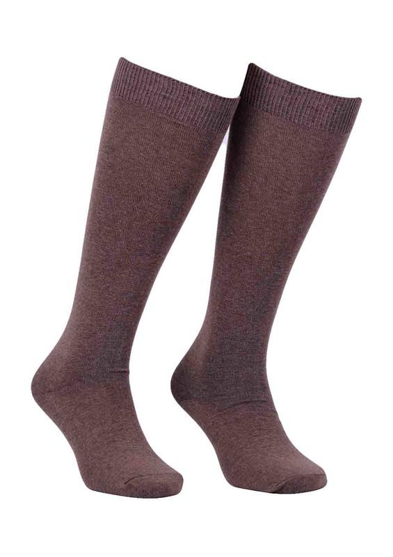 DİBA - Desimo Dikişsiz Diz Çorap 288   Kahverengi