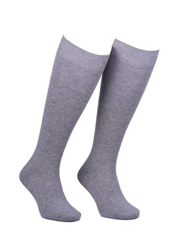 DİBA - Desimo Dikişsiz Diz Çorap 288 | Gri