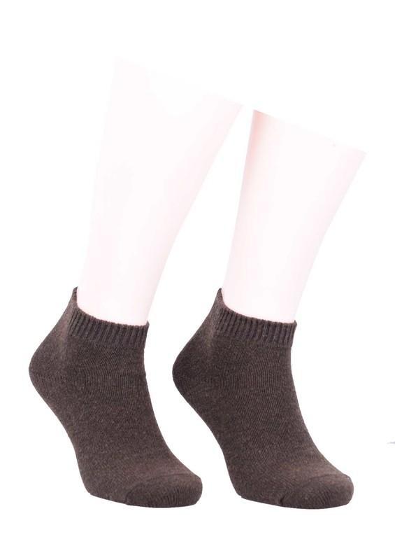 DİBA - Diba Dikişsiz Düz Yün Çorap 216   Haki