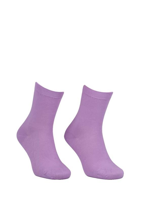 DÜNDAR - Dündar Büzgülü Çorap 2050 | Lila