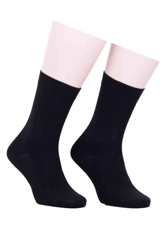 PRO - Pro Kadın Diyabetik Çorap 16409 | Siyah