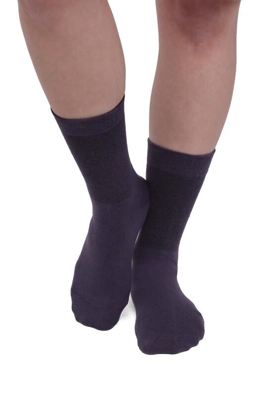 PRO - Pro Kadın Diyabetik Çorap 16409 | Mor