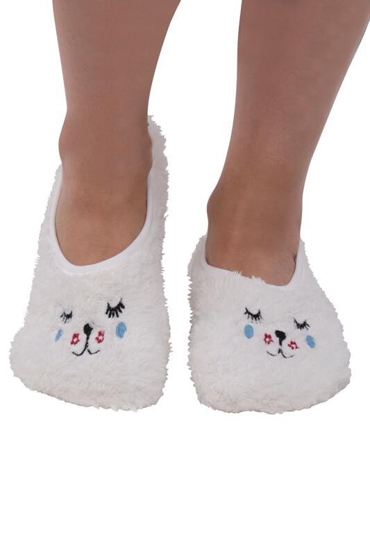 SAHAB - Welsofot Kadın Patik Çorap 30600 | Krem