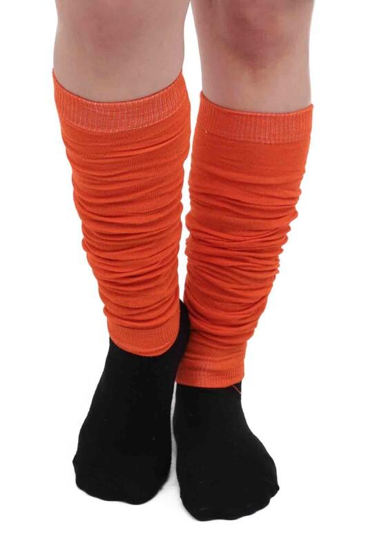SİMİSSO - Kadın Tozluk Çorap | Turuncu