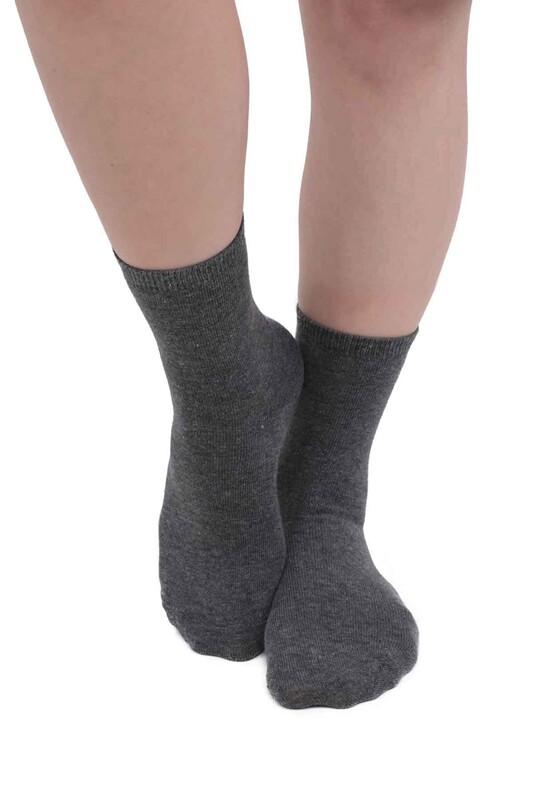 SİMİSSO - Kadın Soket Çorap 955 | Füme