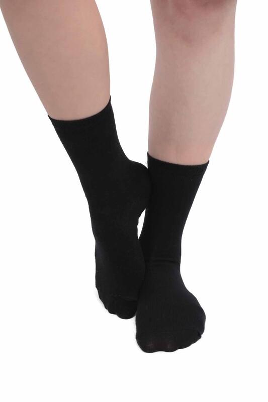 SİMİSSO - Kadın Soket Çorap 955   Siyah