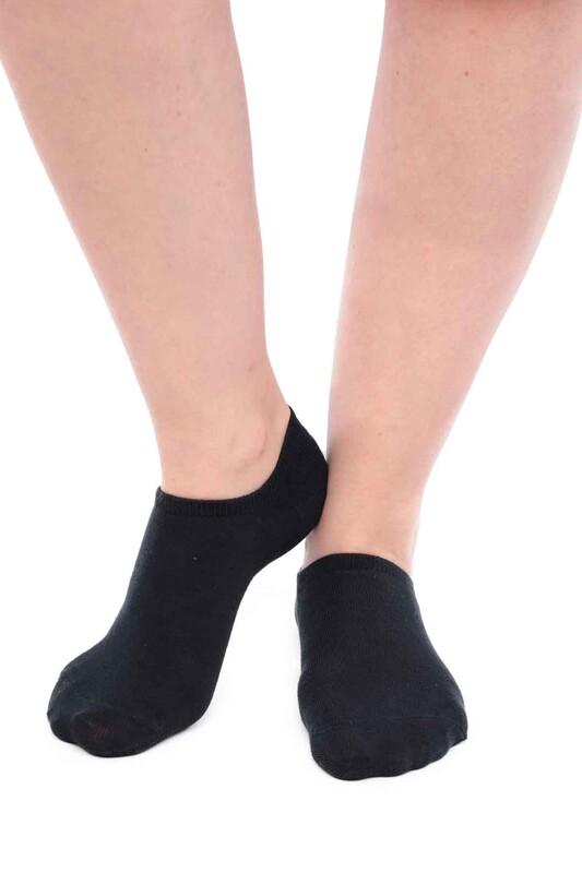 SİMİSSO - Pola Bambu Sneakers Kadın Çorap   Lacivert