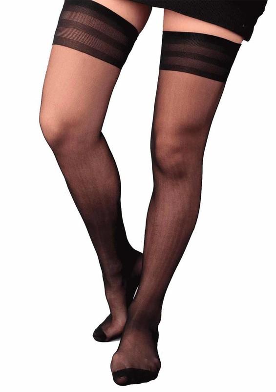 PENTİ - Penti Süper Jartiyer Çorap   Siyah