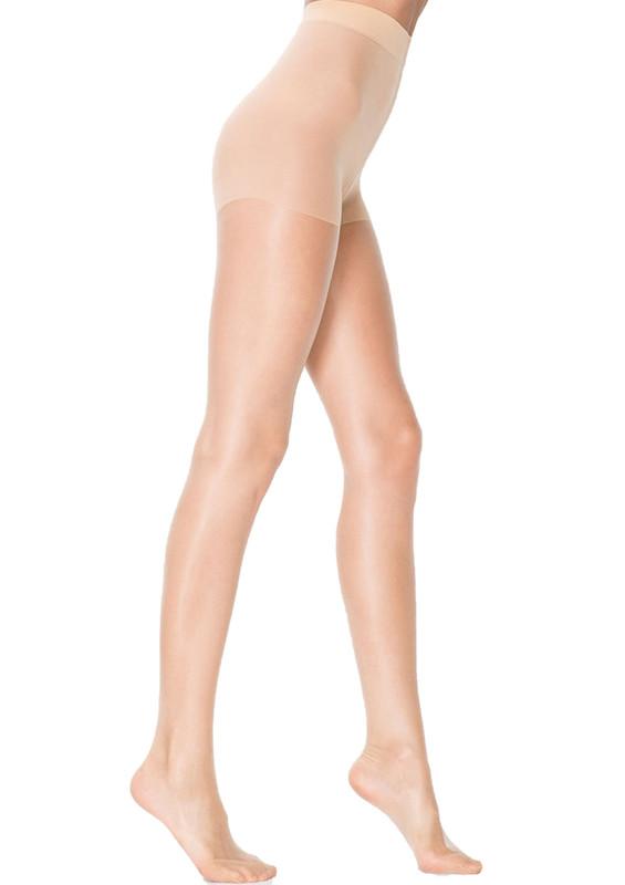 PENTİ - Penti 15 Den Süper Mat Külotlu Çorap | Krem
