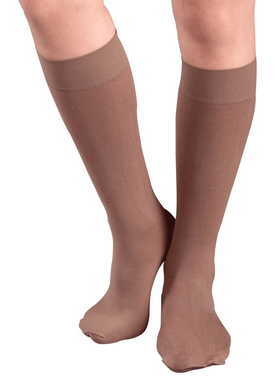 PENTİ - Penti Natural Extra Cotton Pantolon Çorap | Bronz