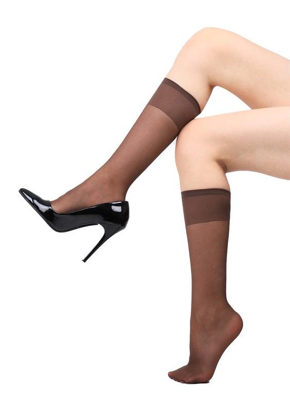 PENTİ - Penti 15 Den Tül Pantolon Çorap | Kahverengi