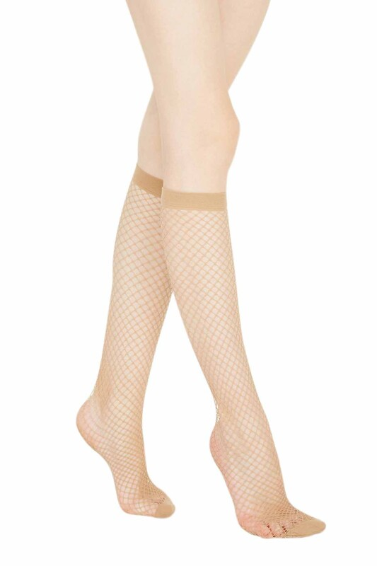 PENTİ - Penti Klasik File Pantolon Çorabı | Ten