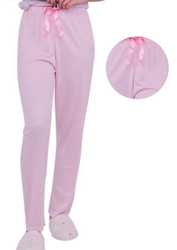 ARCAN - Kalp Desenli Pijama Altı 20106 | Pembe