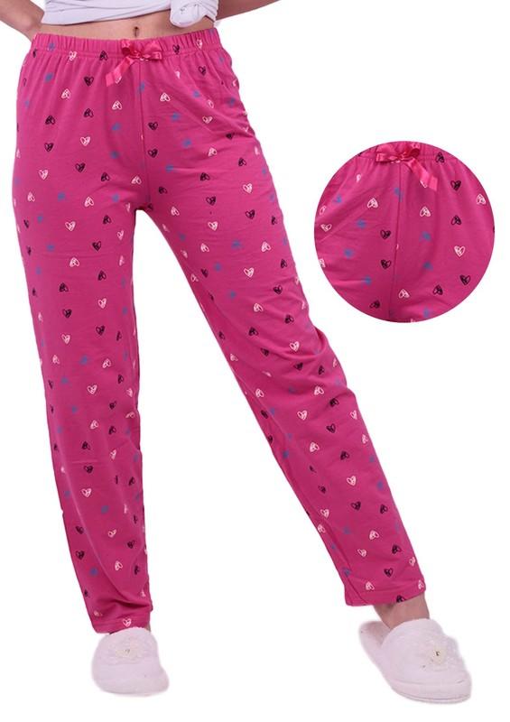 SİMİSSO - Kalp Desenli Pijama Altı | Pembe