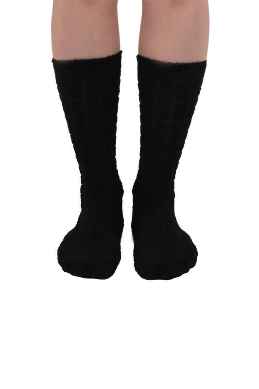 ARC - Kadın Ters Havlu Çorap 212 | Siyah