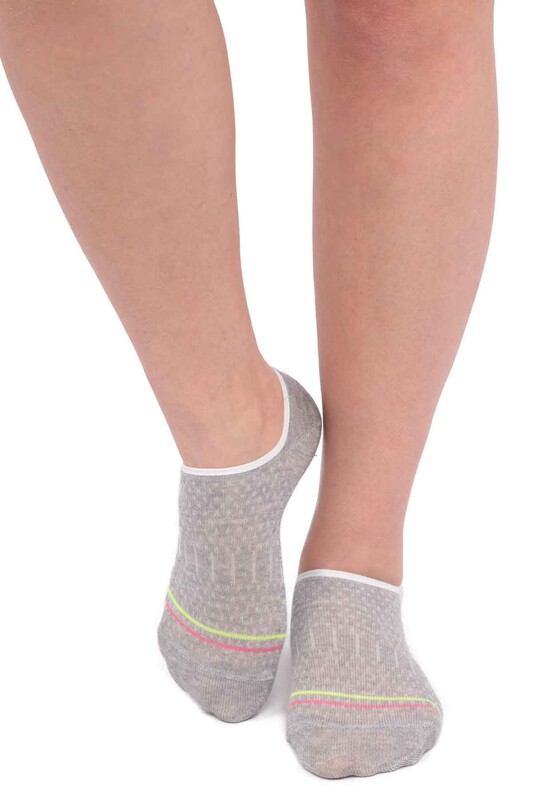 ARC - Arc Kadın Soket Çorap 204   Gri