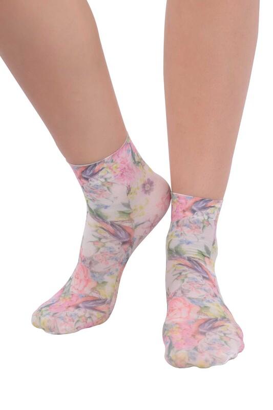 DAYMOD - DayMod Trend Soket Çorap | Pembe