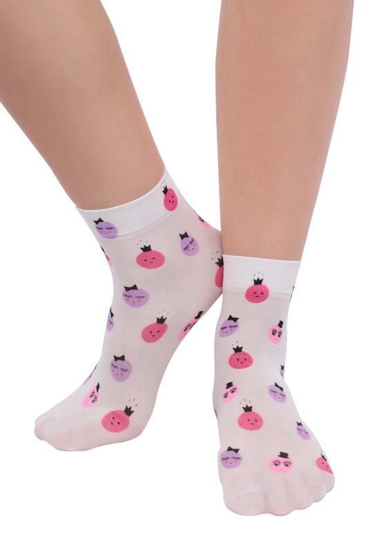 DAYMOD - DayMod Trend Soket Çorap | Beyaz