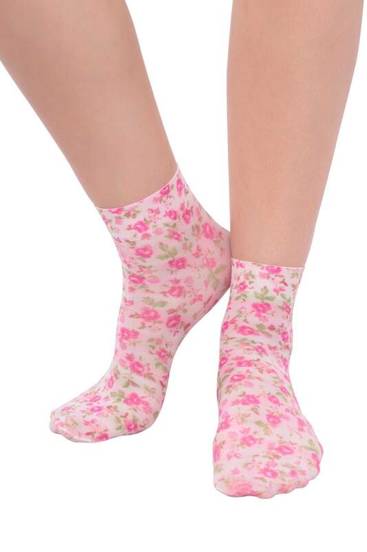 DAYMOD - DayMod Trend Soket Çorap | Fuşya