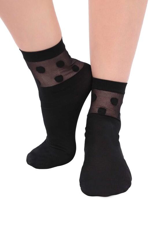 DAYMOD - DayMod İrma Soket Çorap | Siyah