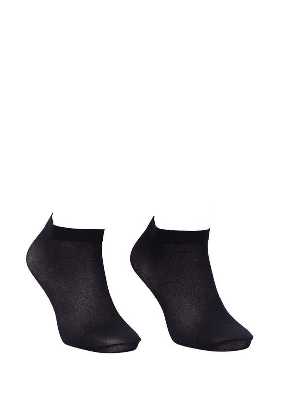 DESİMO - Desimo Düz Soket Çorap 339 | Siyah
