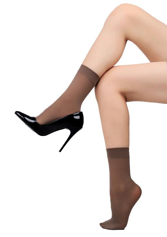 DORE - Dore Soket Çorap 217 | Vizon
