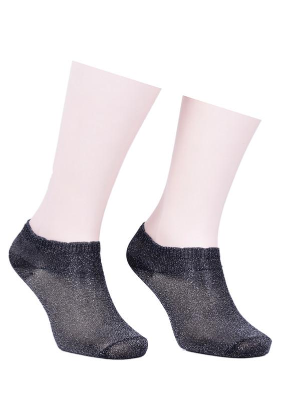 İLBAŞ - Soket Çorap 403 | Gri