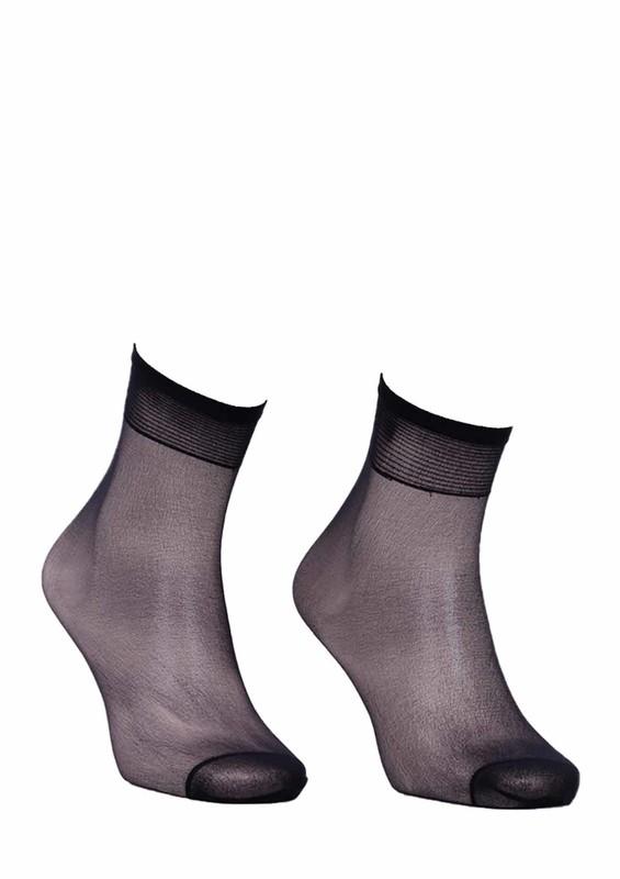 MÜJDE - Müjde İnce Soket Çorap 007 | Siyah
