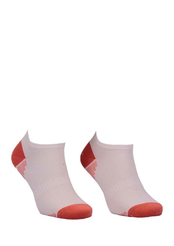 PAKTAŞ - Paktaş Desenli Patik Çorap 2534 | Krem