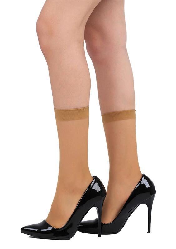 PENTİ - Penti 15 Den Süper Mat Soket Çorap | Ten