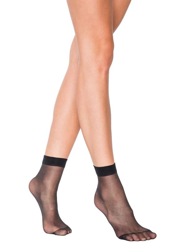 PENTİ - Penti Fit 15 İnce Soket Çorap | Siyah