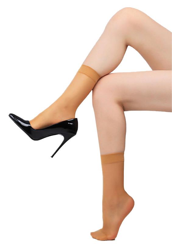 PENTİ - Penti Fit 15 İnce Soket Çorap | Ten