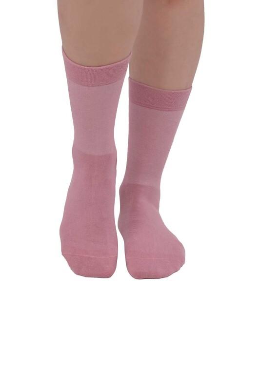 PRO - Pro Kadın Diyabetik Çorap 16409 | Pembe