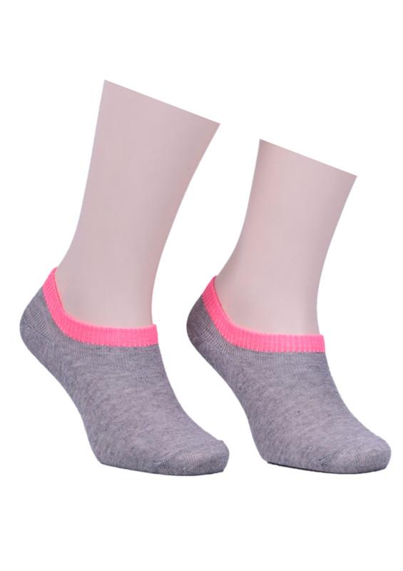 SAHAB - Sahab Bileği Renkli Soket Çorap 1540 | Pembe